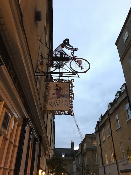 The Raven pub in Bath, UK - photo © Love to Eat and Travel