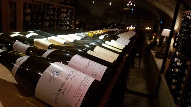 21 Boulevard restaurant wine cellar - Photo Credit: Deborah Grossman