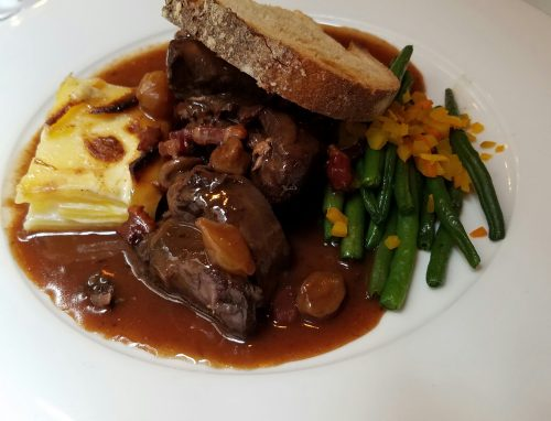 Ecrit Vin boeuf Bourguignon - Photo Credit: Deborah Grossman