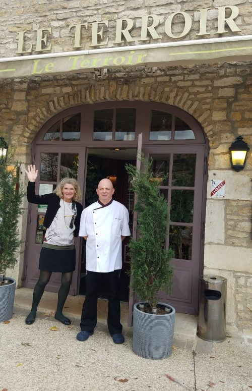Le Terroir owners Corinne and Fabrice Germain - Photo Credit: Deborah Grossman