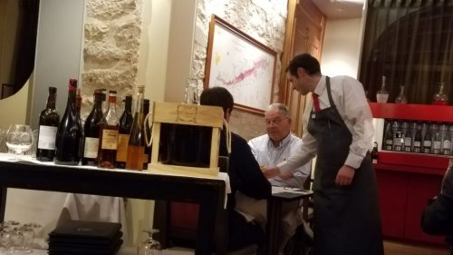 Loiseau des Vignes wine service - Photo Credit: Deborah Grossmsan