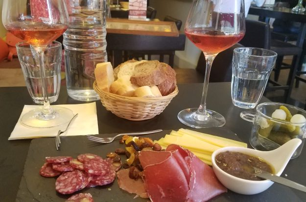 Lausanne Charcuterie at Midi 20 Wine Bar - Credit: Deborah Grossman
