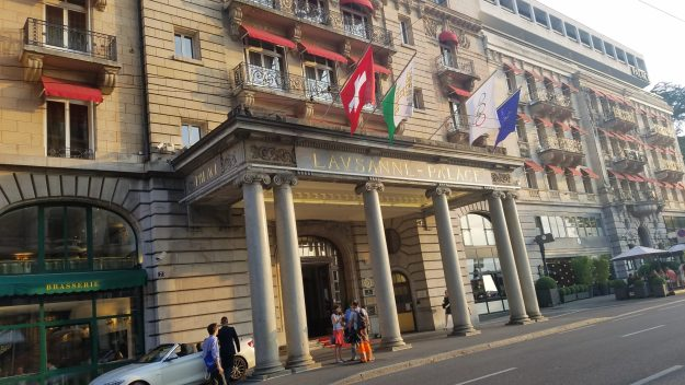 Lausanne Palace Hotel official Olympic Committee Hotel - Credit: Deborah Grossman