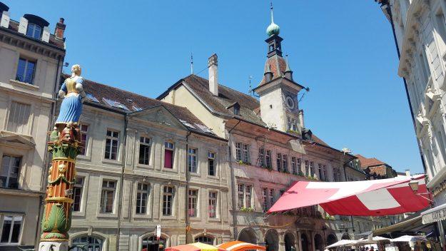 Lausanne town center - Credit: Deborah Grossman