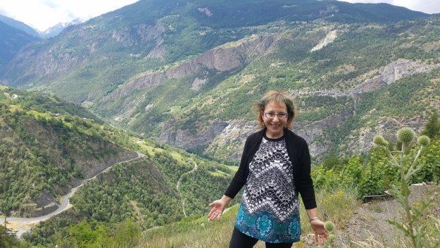 Vispertiminen on the Heida Trail at the highest vineyard in Europe - Credit: Justine Jost
