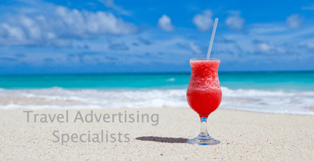 Travel Advertising Love to Eat and Travel