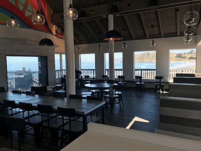 Ocean View Dining Inside Taco Bell