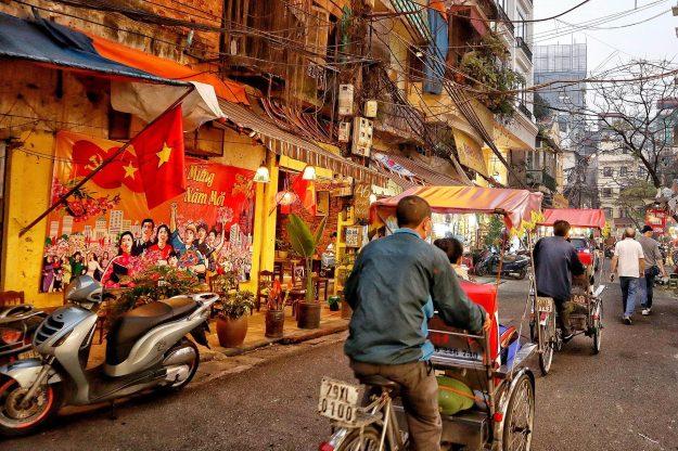 Vietnam Hanoi Streets