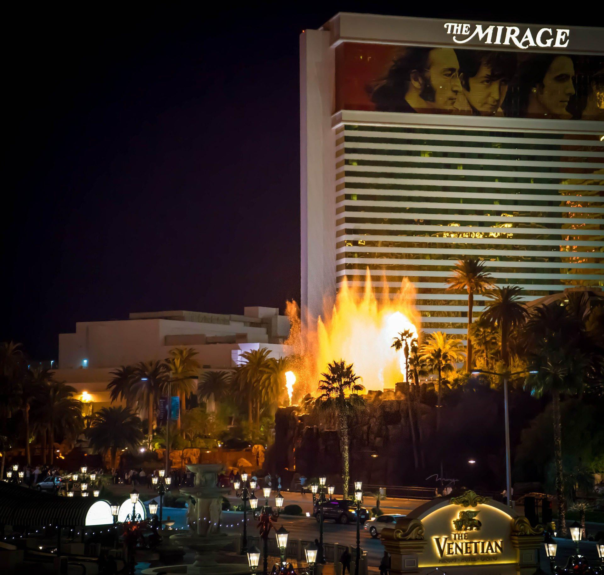 Volcano at The Mirage, Las Vegas