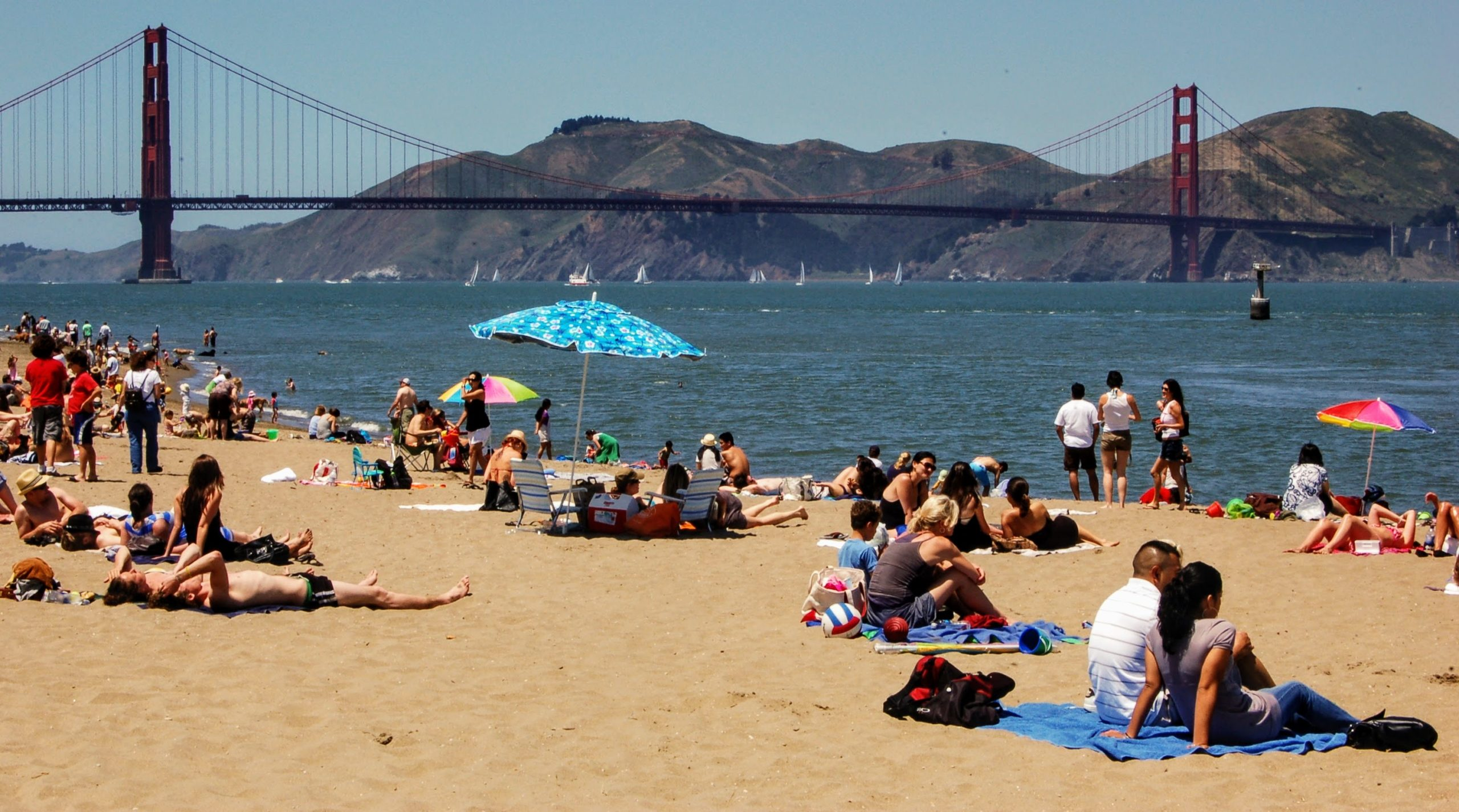 Crissy Field Beach, San Francisco