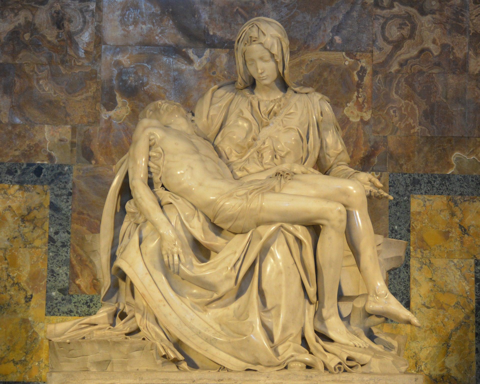 Michangelo's Pieta, St. Peter's Basilica, Rome