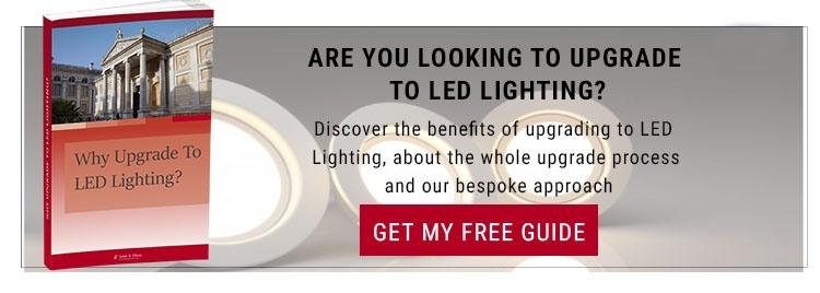 why upgrade to led lighting