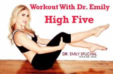Tone Your Whole Body With This Quick Total Body Workout From Dr. Emily: High Five