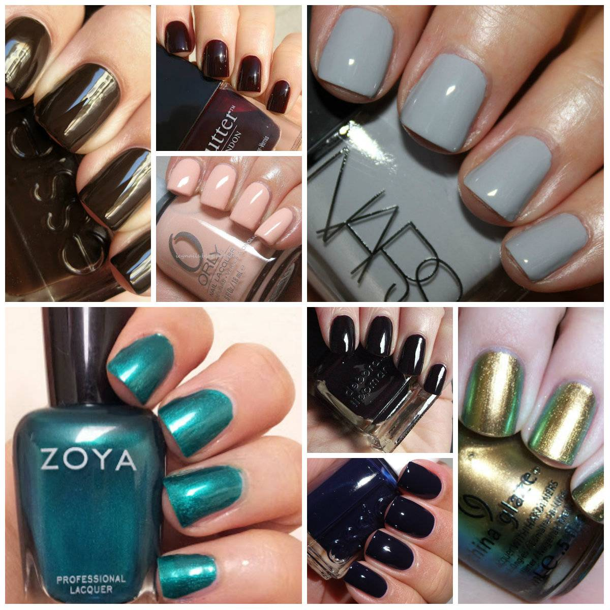 Winter Nail Polish Colors: 8 Must-Have Fall Nail Polish Colors!