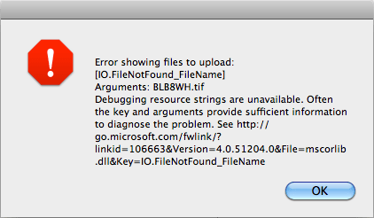 Silverlight IO.FileNotFound_FileName exception
