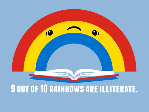 Illiterate Rainbow