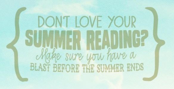 Summer Reading Blog Header