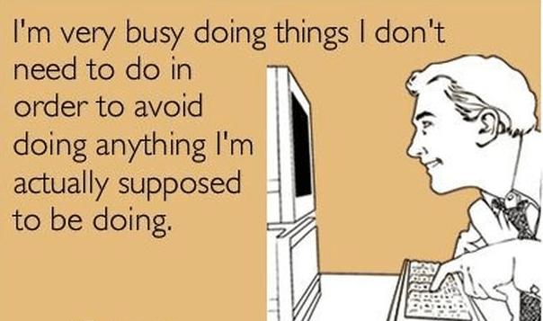 Unmotivated Author meme about procrastination