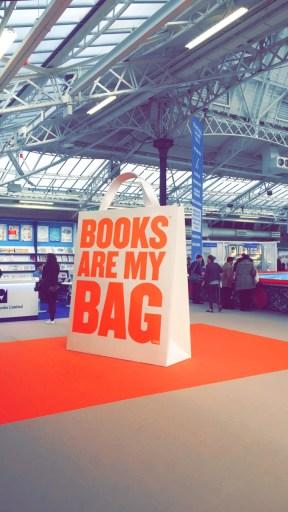 Books are my bag. The London Book Fair 2016.