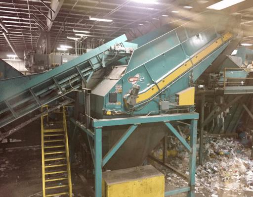 Sonoco Recycling Machine