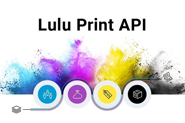 API, Printing, Self-Publishing, Developer's Portal, Lulu