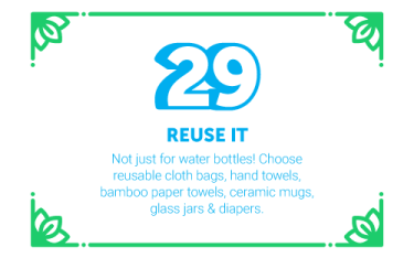 30 Ways in 30 Days #29 - Reuse it