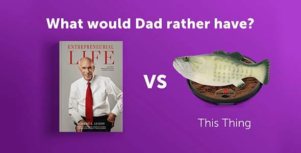 Father's Day Book Versus Bass