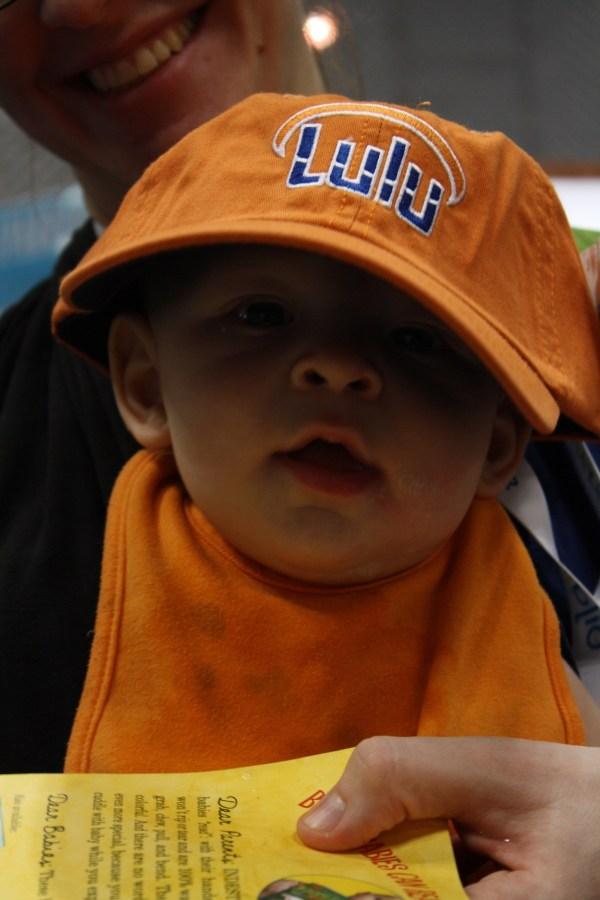 Baby in Lulu Hat