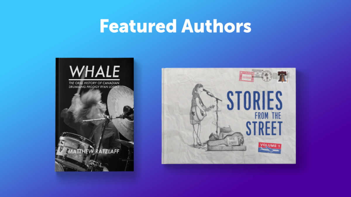 April Featured Authors Blog Header