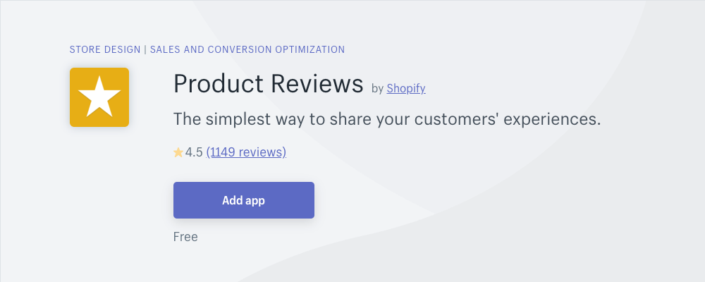 Shopify Product Review App provides SEO optimized reviews for your products to help you sell more books