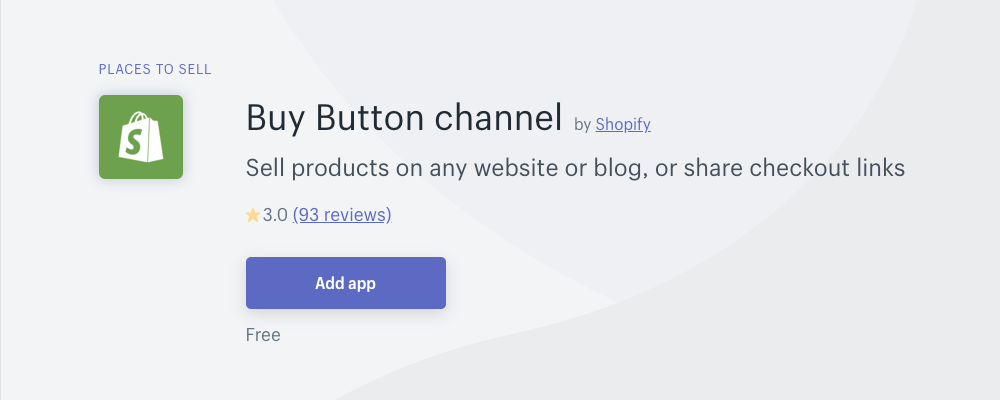 Shopify Buy Button creates an HTML button you can embed anywhere to offer your book for sale