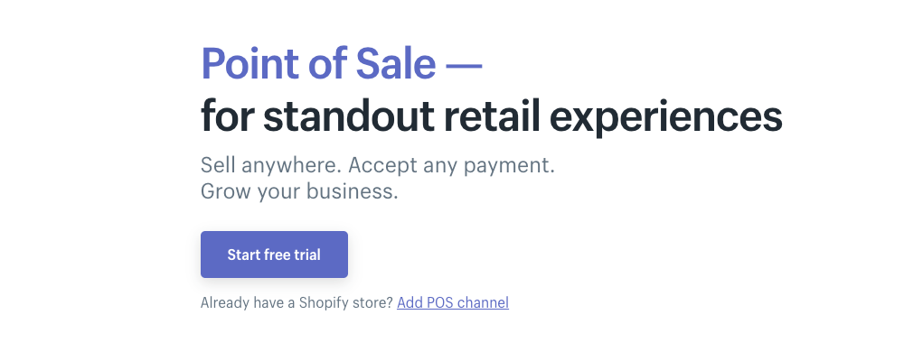 Shopify Point of Sale services allow you to sell books from your mobile device using a card reader