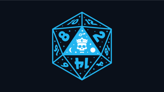 Header image for our article on role-playing games featuring a 20-sided dice.