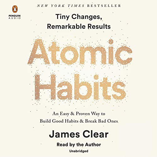 Atomic Habits book cover image