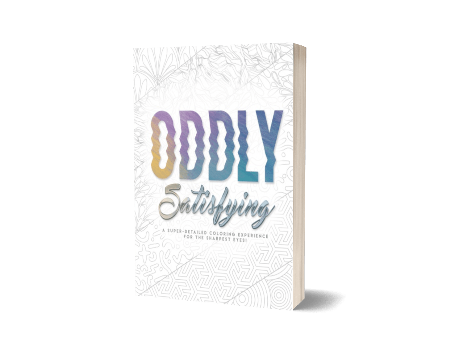 ODDLY SATISFYING Coloring Book