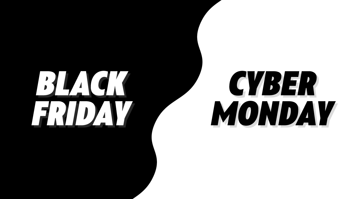 Black Friday And Cyber Monday Holiday Sales planning blog Graphic Header