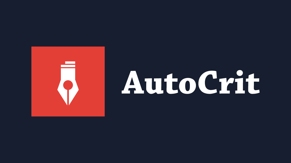 AutoCrit review from the Lulu blog Graphic Header