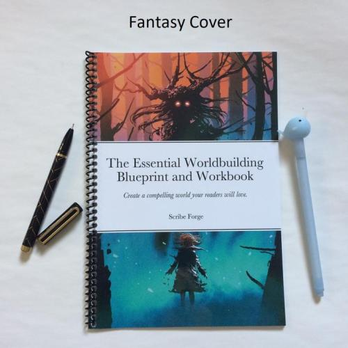 The Essential Worldbuilding Blueprint and Workbook - Print