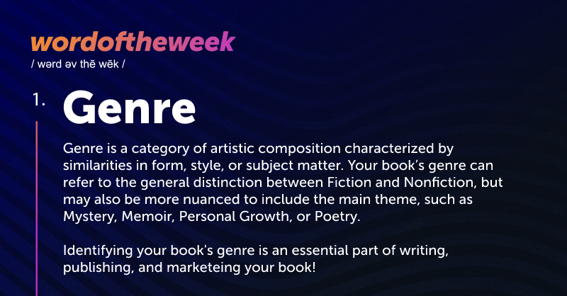 Genre (Definition) - Genre is a category of artistic composition characterized by similarities in form, style, or subject matter.