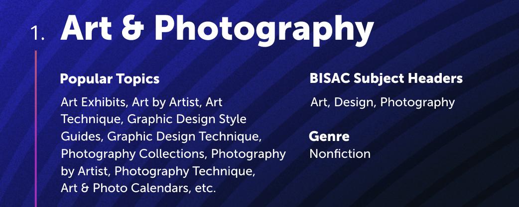 Arts and Photography Lulu Bookstore Category