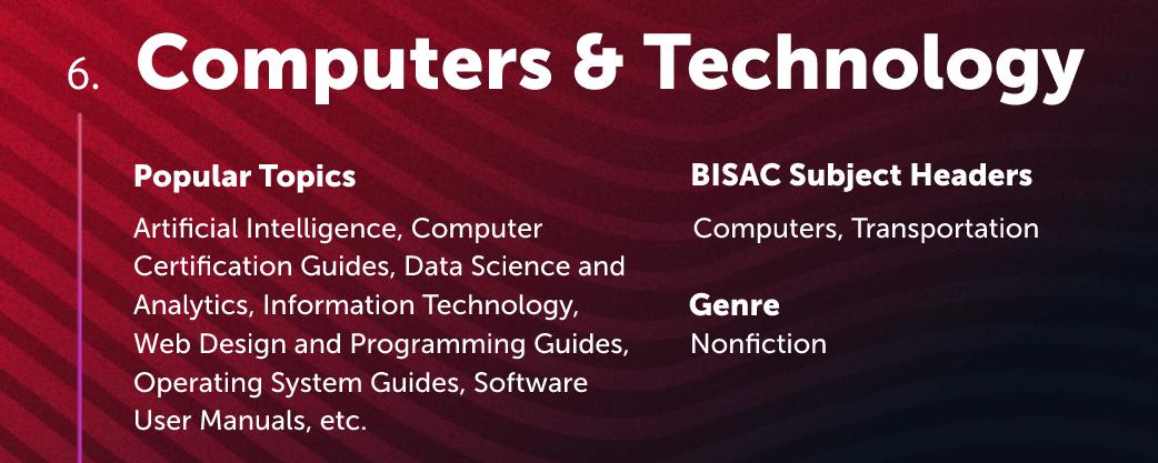 Computers & Technology Lulu Bookstore Category