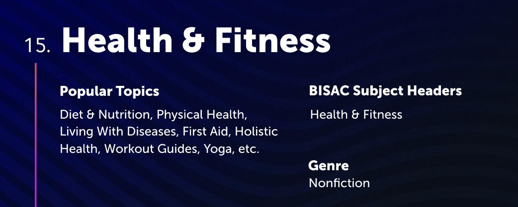 Health & Fitness Lulu Bookstore Category
