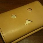 小さい財布ダンボーバージョンにお札を入れた様子