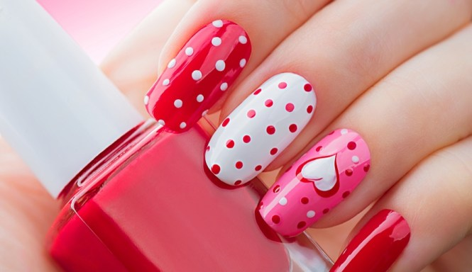 15 Cute 3d Valentines Day Nail Art Designs