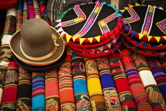 Handcrafted goods in Peru