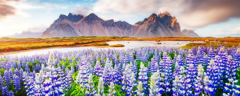 Vestrahorn (Batman Mountain), Iceland,