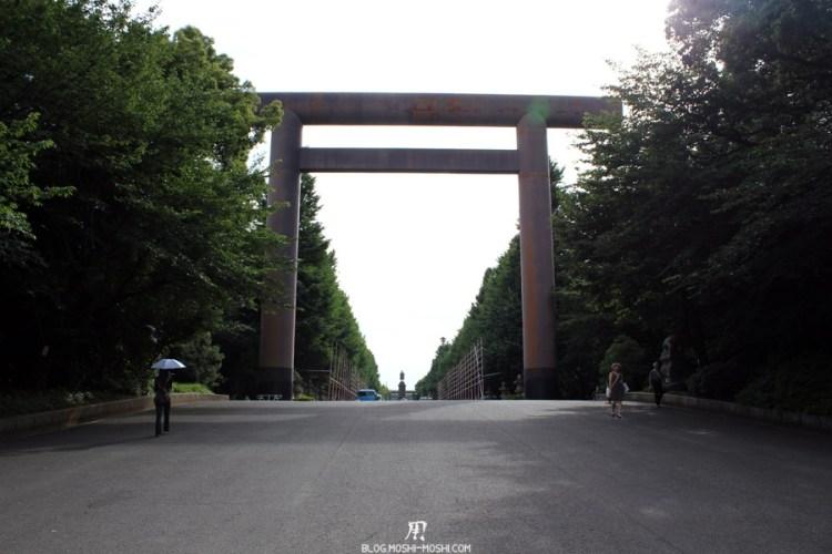Yasukuni Jinja Tokyo-immense-torii