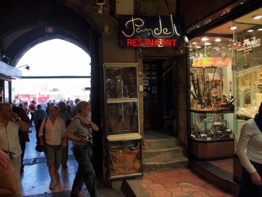 Pandeli Restaurant in Istanbul