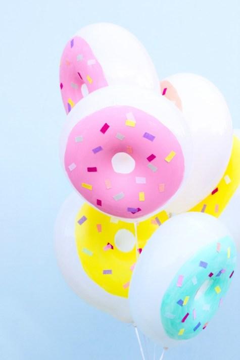 DIY-Donut ballons3