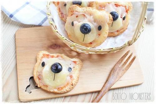 mini pizza oursons